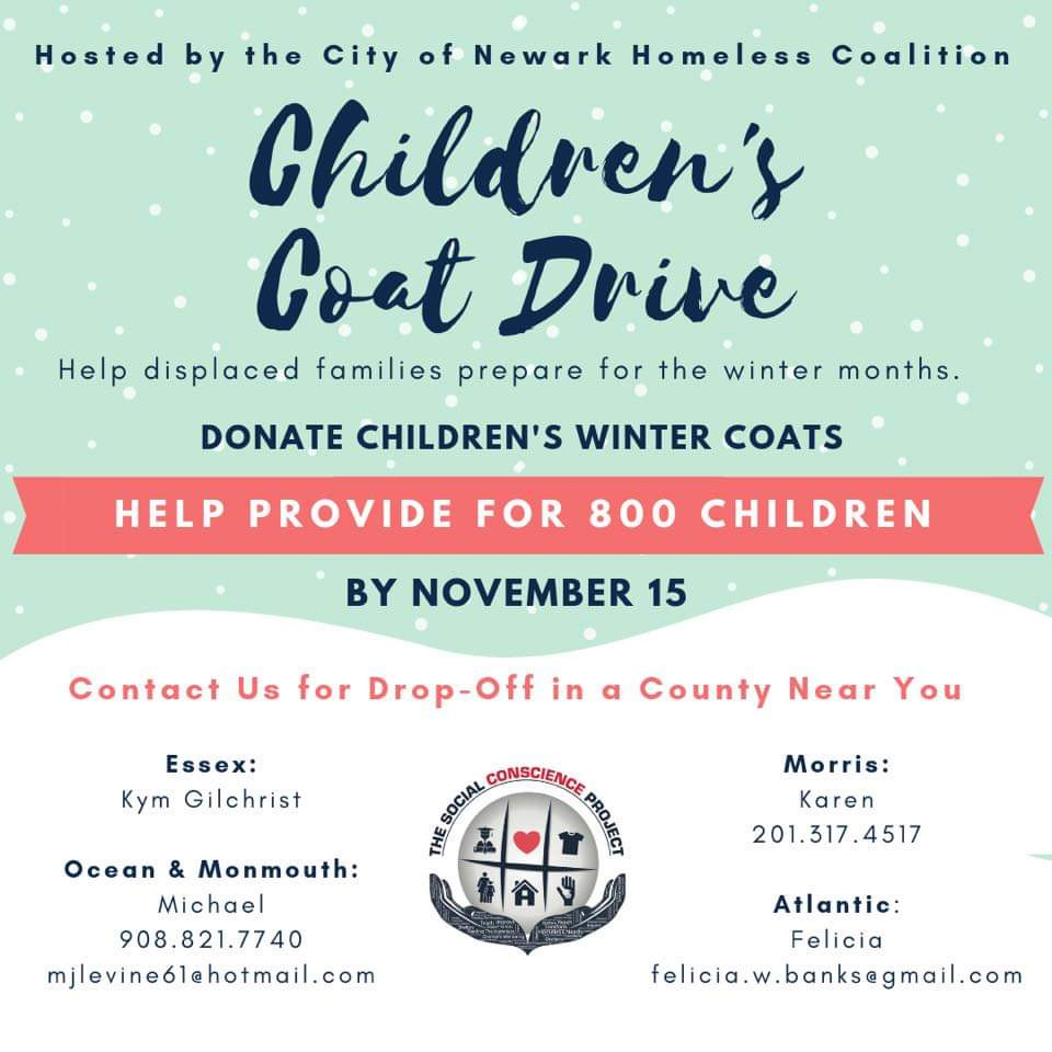 children's coat drive